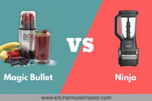 magic bullet vs ninja blender