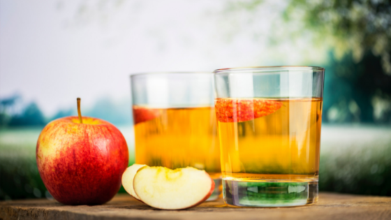 How to make apple juice with a blender