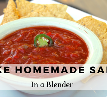 How to make salsa in a blender