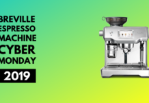 Breville espresso machine cyber monday 2019