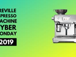 Breville espresso machine cyber monday 2019