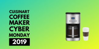 Cuisinart coffee maker cyber monday 2019