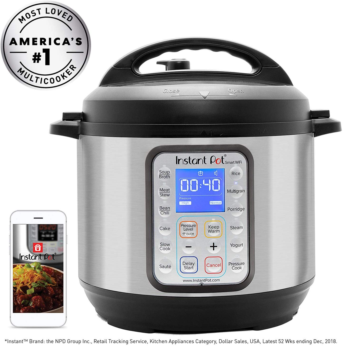 Instant Pot Smart Wifi black friday