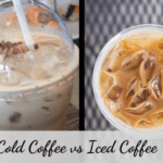 Iced coffee vs cold brew