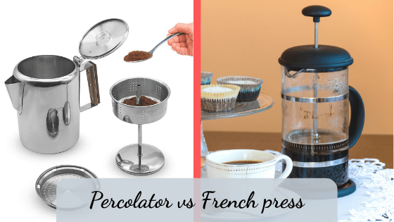 percolator vs french press