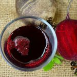 How to make beetroot juice in a blender