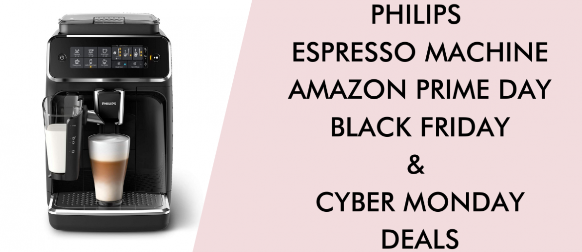 Philips coffee maker black friday cyber monday prime day deals